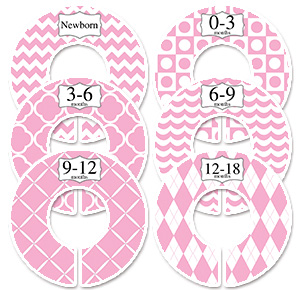 Or Adult Clothes With Printable Closet Dividers To Easily Find The Clothing You Need Printed Labels Fit On Plastic That Are 35 A 1